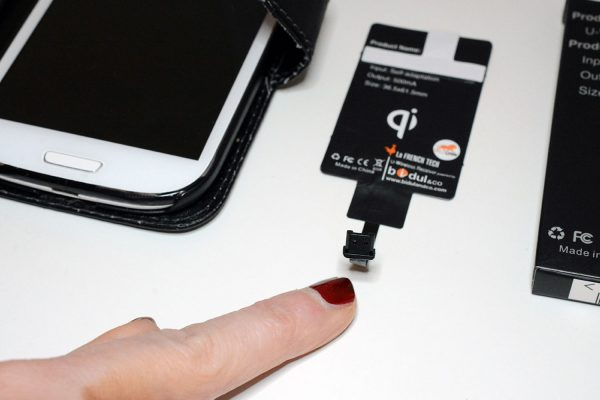 Récepteur Charge Qi Android